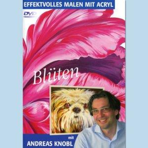 DVD – Effektvolles Blüten Malen mit Acryl